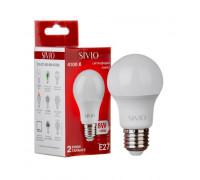 Лампа светодиодная Sivio нейтральная белая A55 8W E27 4100K