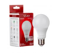 Led лампа SIVIO нейтральная белая 15W E27 A65 4100K