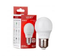 Led лампа SIVIO нейтральная белая 8W E27 G45 4100K