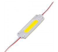 Светодиодный модуль   белый 24V COB 1LED 2W IP65