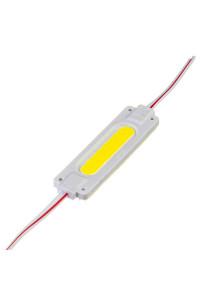 Светодиодный кластер 24В белый 1led COB 2Вт герметичный