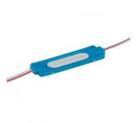 Светодиодный кластер 24В синий 1led COB 2Вт герметичный