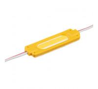 Светодиодный кластер 24В желтый 1led COB 2Вт герметичный