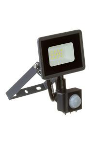 LED прожектор с датчиком движения AVT 10Вт 6000К IP65
