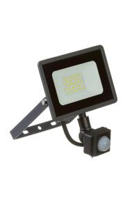 LED прожектор уличный с датчиком движения AVT 20Вт 6000К герметичный