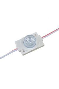 Светодиодный инжекторный кластер 12В белый теплый 1led smd3030 1.5Вт герметичный